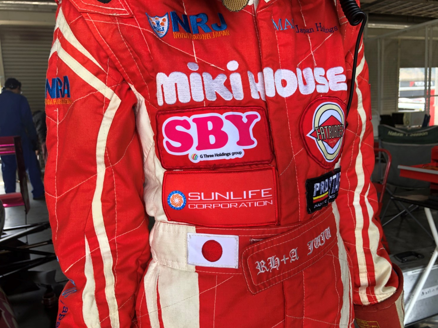 Juju レーシングスーツ2